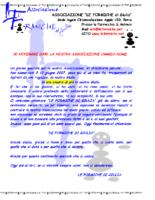 Lettera Cambio Nome Associazione